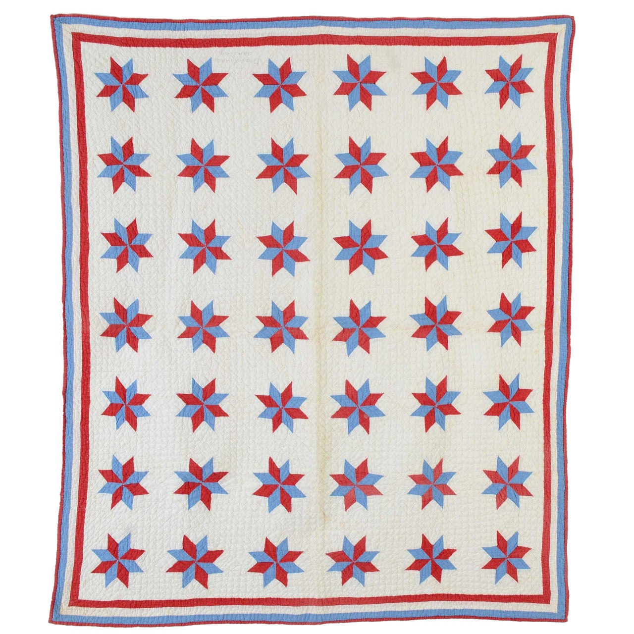 LeMoyne Stars Crib Quilt