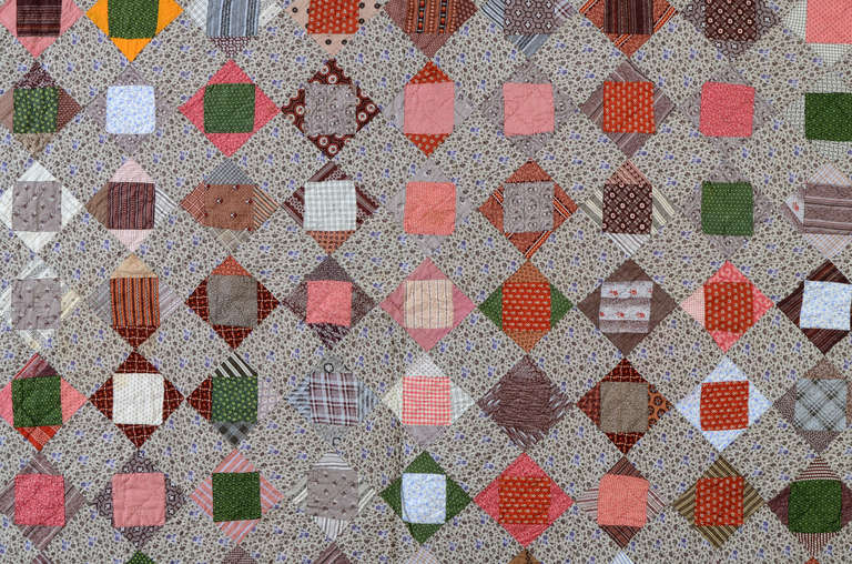 American Economy Patch Quilt For Sale