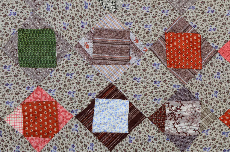 19th Century Economy Patch Quilt For Sale