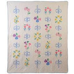Bouquets and Bows Quilt