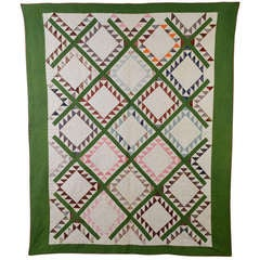 Feathered Diamonds Quilt