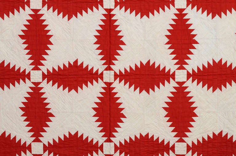 American Windmill Blades Quilt For Sale
