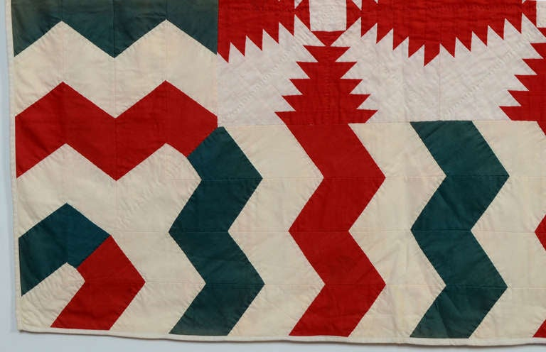 Cotton Windmill Blades Quilt For Sale