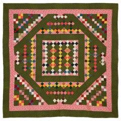 Unique Four-Patch Quilt