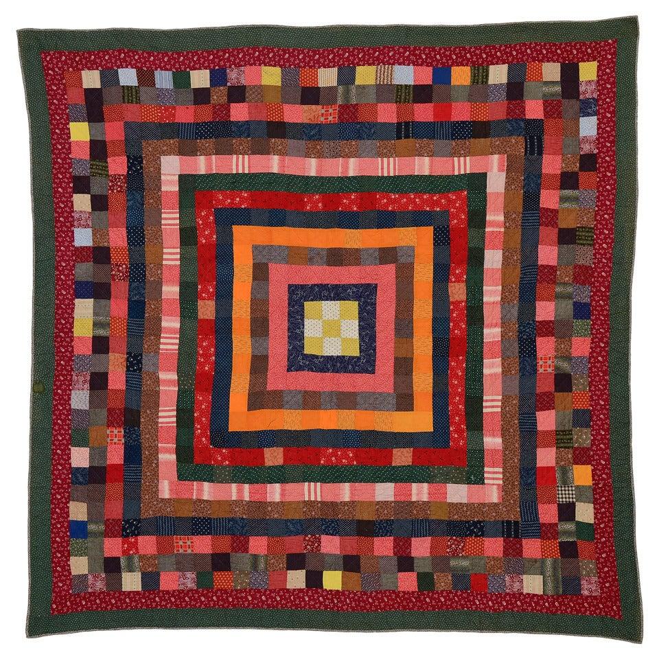Concentric Squares Quilt
