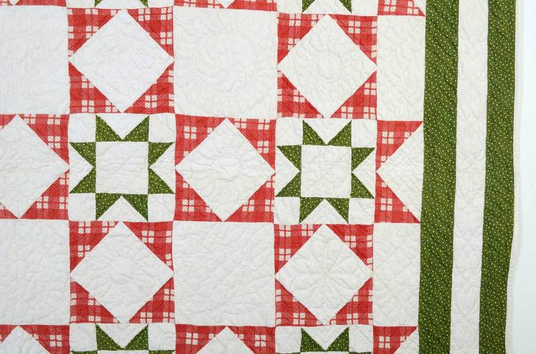 American Evening Stars Quilt For Sale