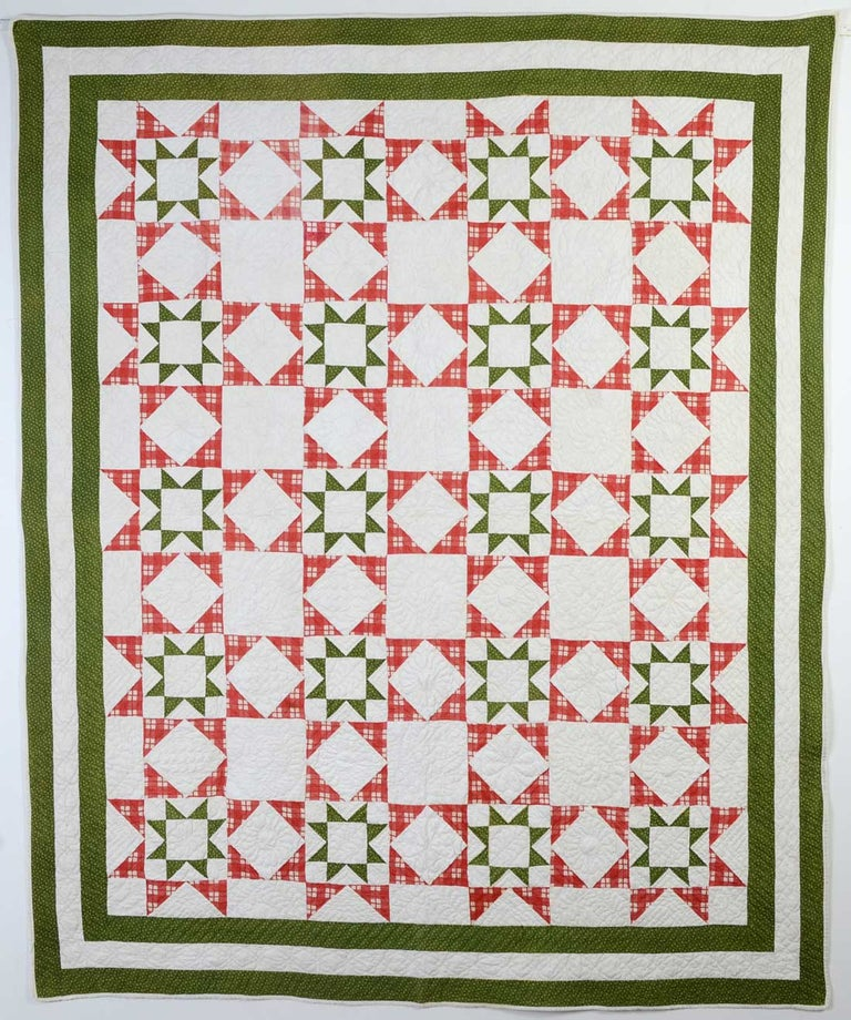 Evening Stars Quilt For Sale