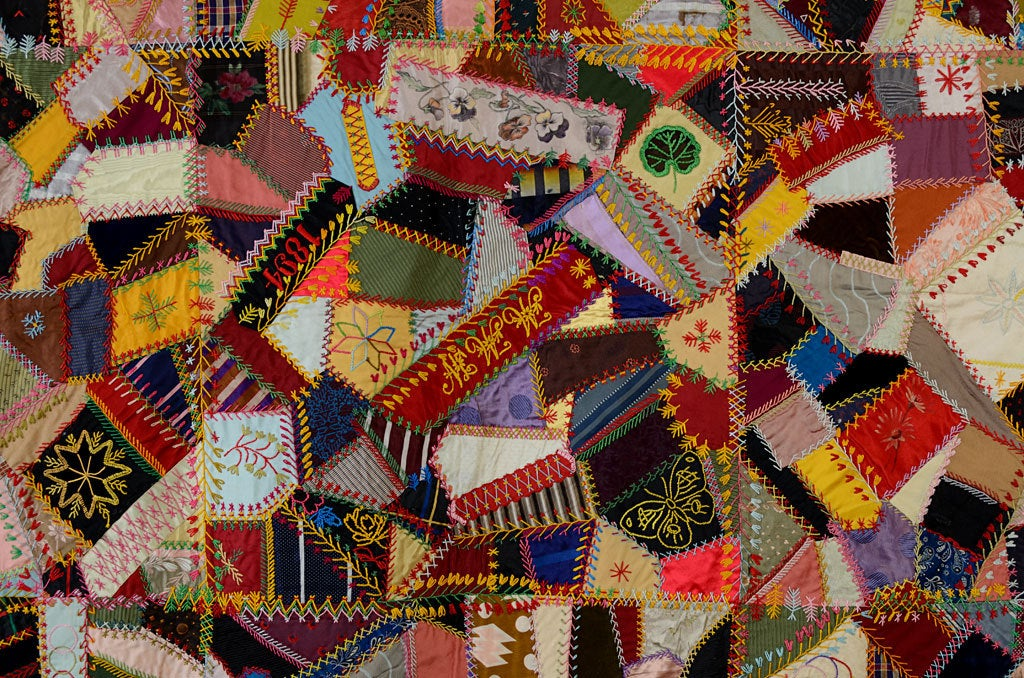 Victorian Crazy Quilt At 1stdibs