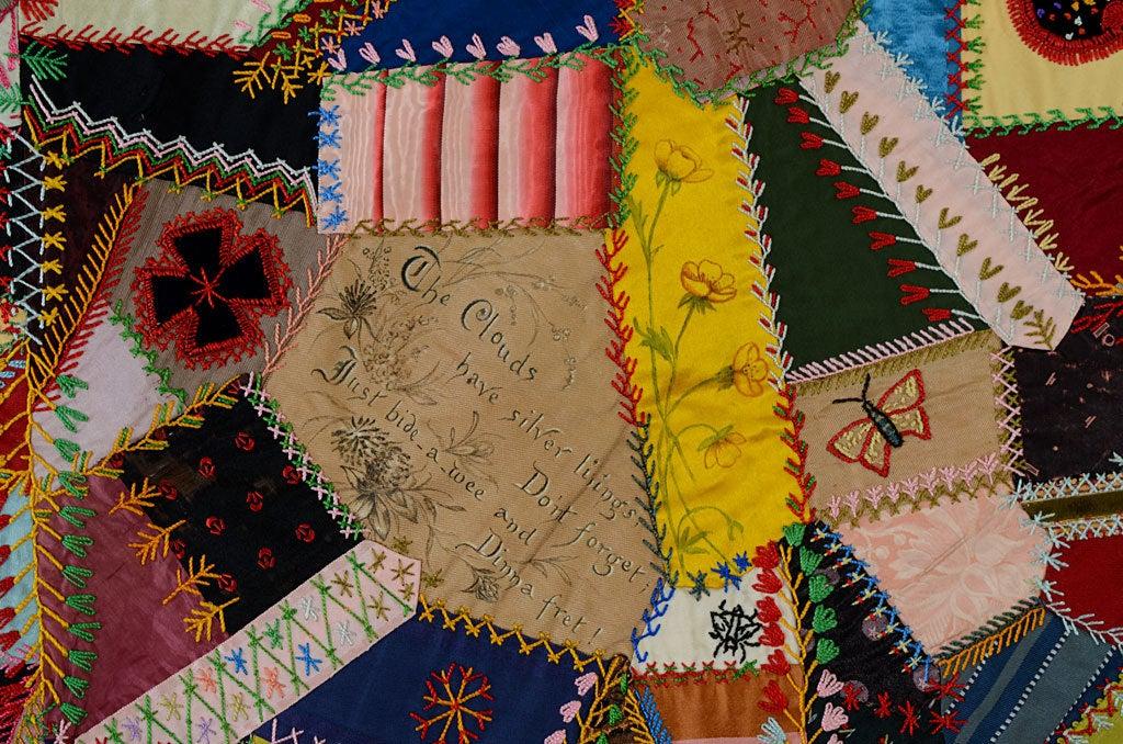 Victorian Crazy Quilt 4