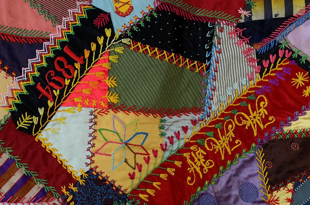 Victorian Crazy Quilt 5