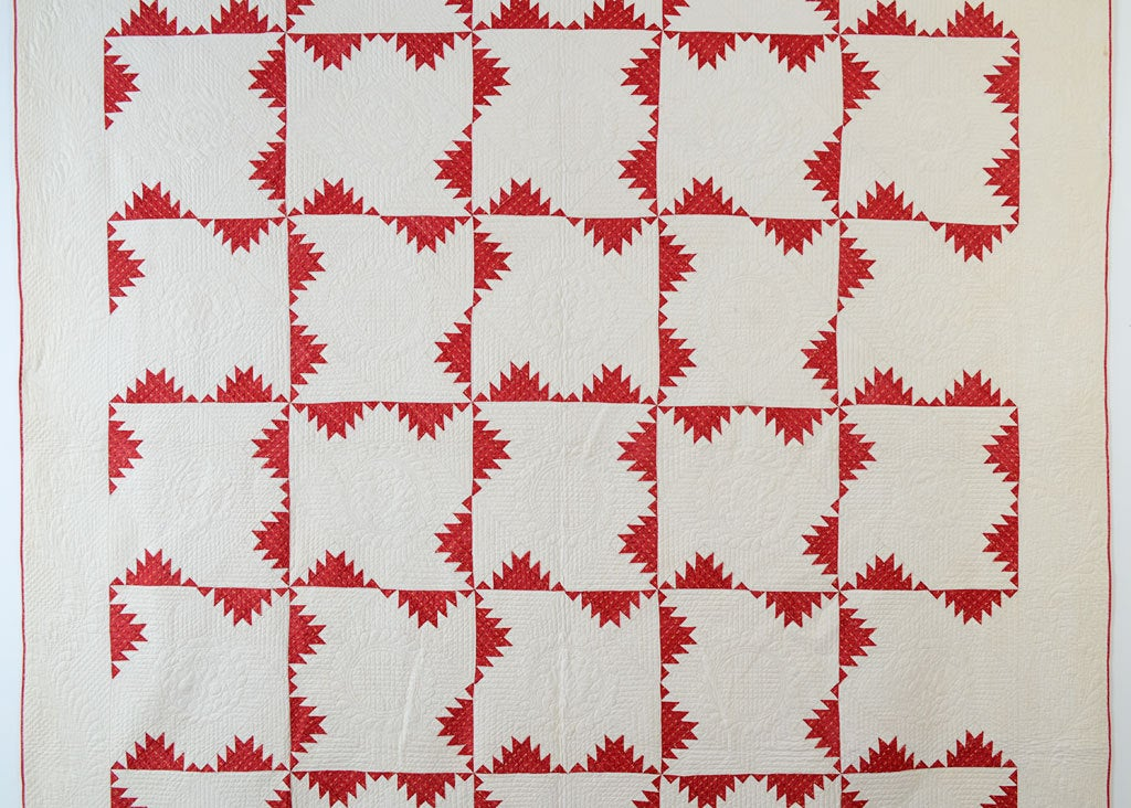 19th Century Kansas Troubles Quilt For Sale