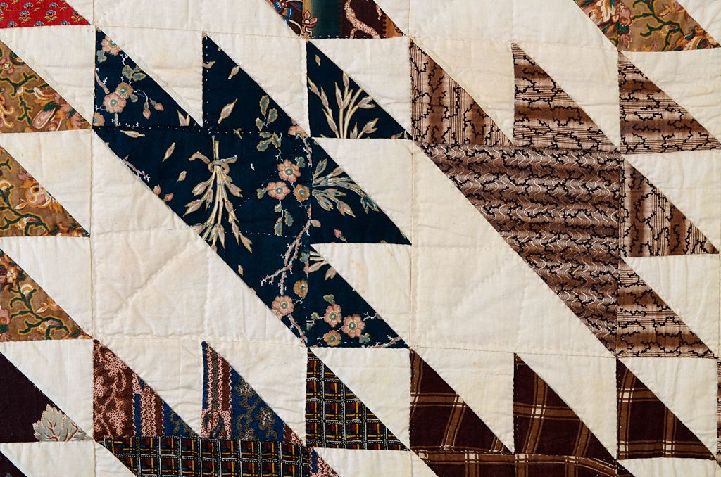 Cotton Sawtooth Quilt