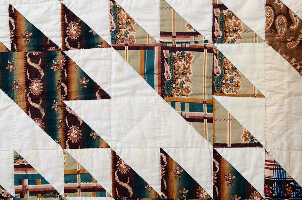 Sawtooth Quilt For Sale 1