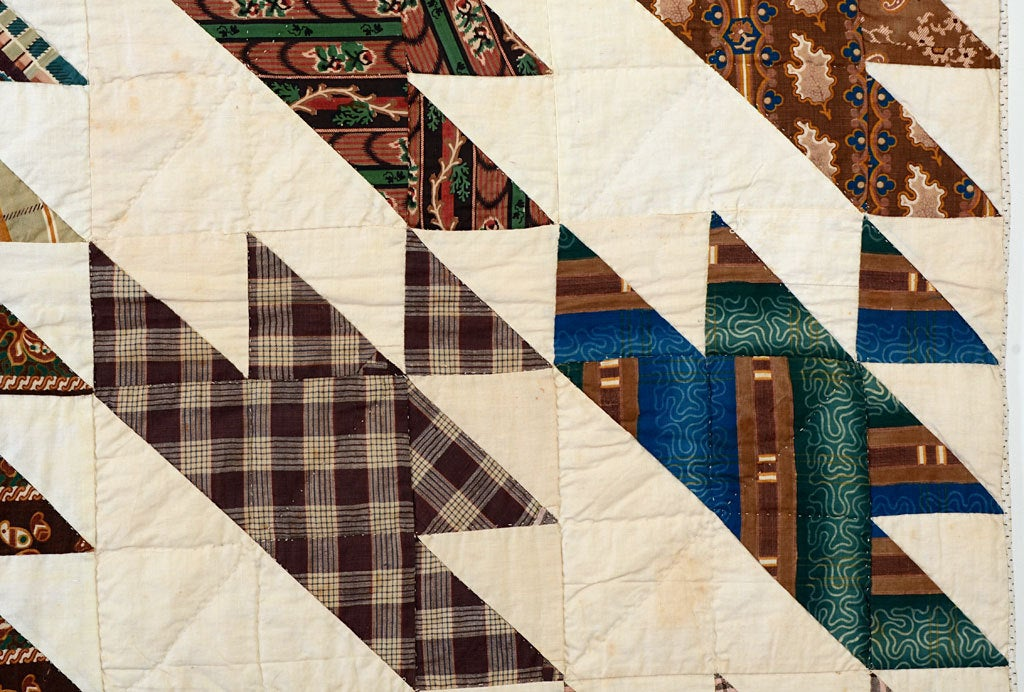 Sawtooth Quilt For Sale 2