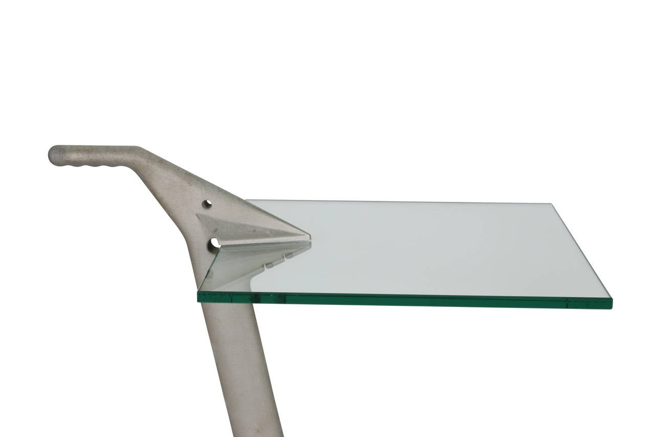 20th Century Fontana Arte Two-Tier Rolling Table For Sale