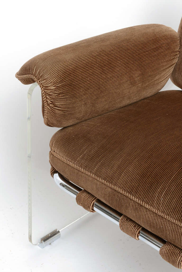 pair of iconic pace argenta lounge chairs at 1stdibs
