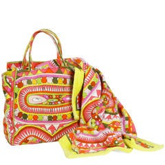 Pucci Bag and Towel Beach Set by Christian Lacroix