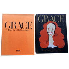 Grace, Thirty Years of Fashion at Vogue, First Edition Book in Original Box