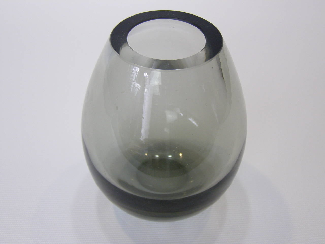Per lutken for holmegaard teardrop smoked glass vase for sale at mid century modern per lutken for holmegaard teardrop smoked glass vase for sale reviewsmspy