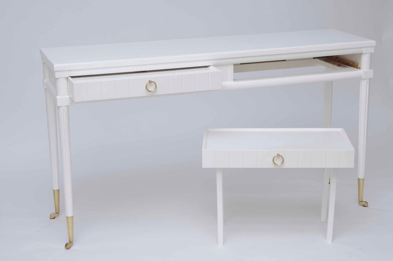 Console Table With Pull Out Drinks Tables At 1stdibs