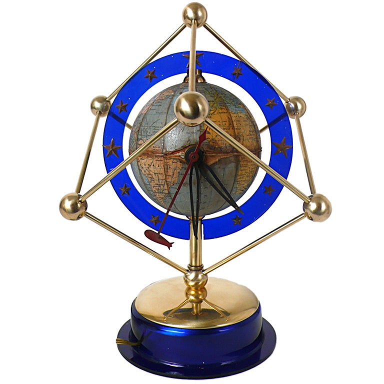 An Unusual Holland Clock Globe For Sale At 1stdibs