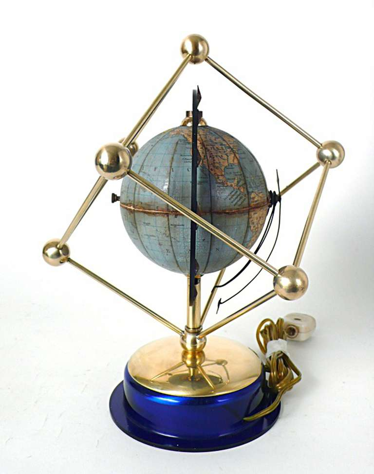 An unusual holland clock globe for sale at 1stdibs Unique clocks for sale