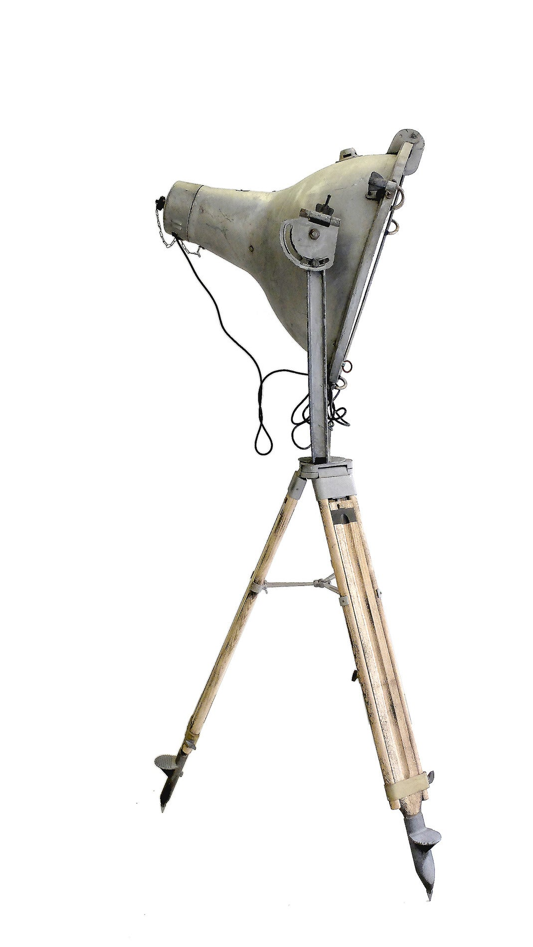 Rare Strand Electric Floodlight With Tripod For Sale At