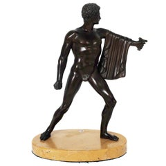 A Neoclassical Grand Tour Bronze of a Gladiator