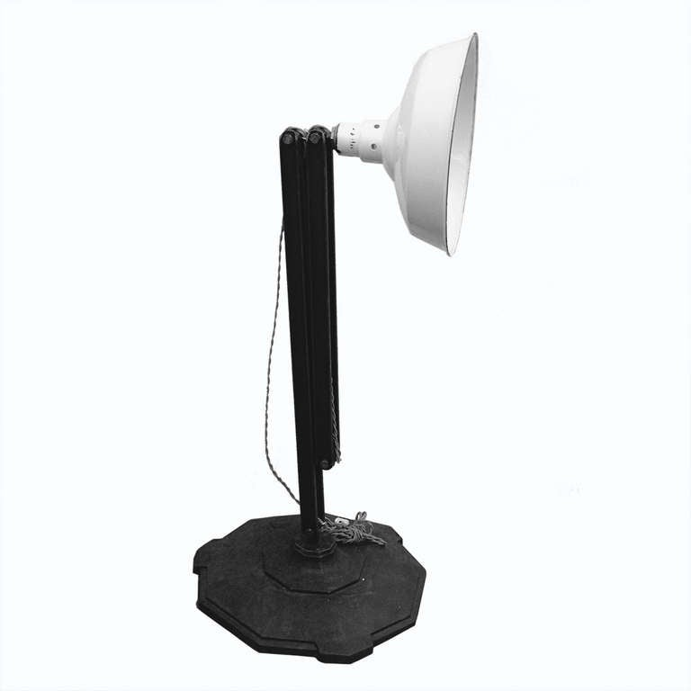 an unusual industrial floor lamp usa 1940 ca for sale. Black Bedroom Furniture Sets. Home Design Ideas
