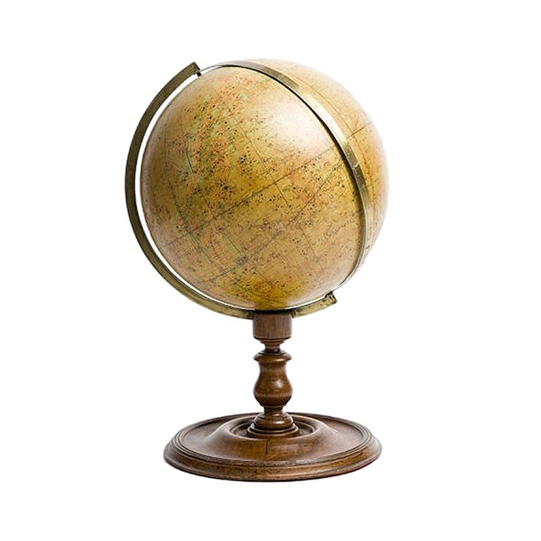 A English Celestial Globe, Dated1860.