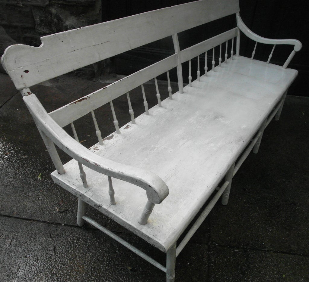 Country Bench At 1stdibs