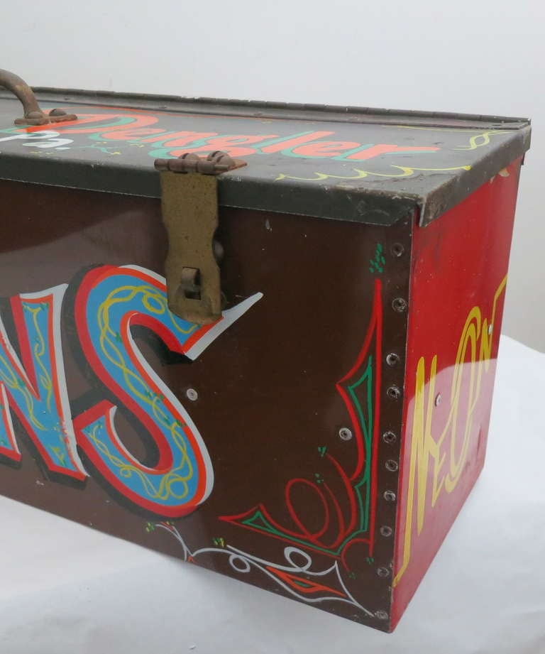 Sign painter 39 s box at 1stdibs for K y furniture lebanon pa