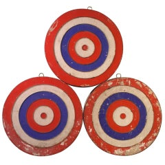 Red, White and Blue Targets