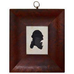 Early 19th Century Silhouette of George Washington