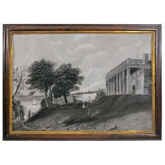 Sandpaper Drawing of Mt Vernon