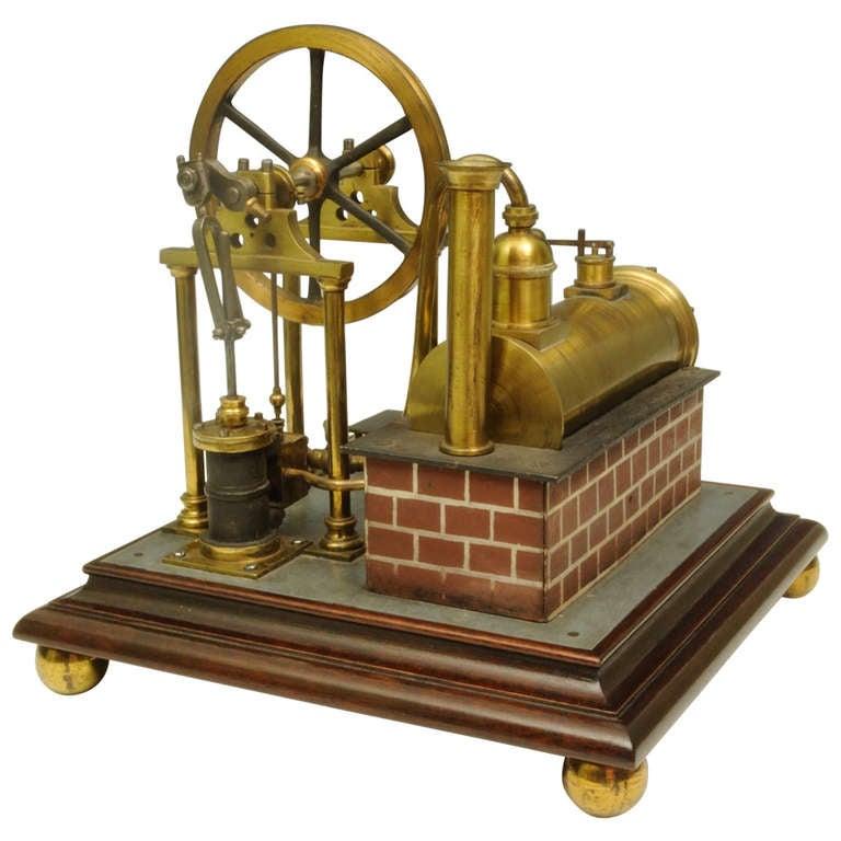 Superb Model Steam Engine