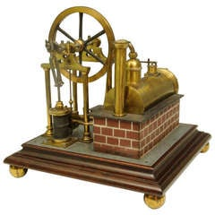 Superb Model Steam Engine