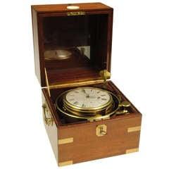 Rare 8 Day Marine Chronometer