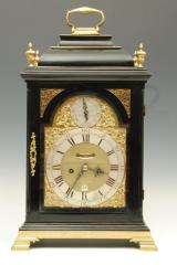 Ebonised Bracket Clock image 4