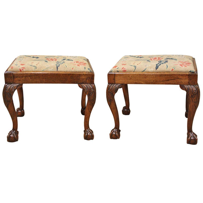 Pair of early georgian stools at 1stdibs Home furniture johnston st