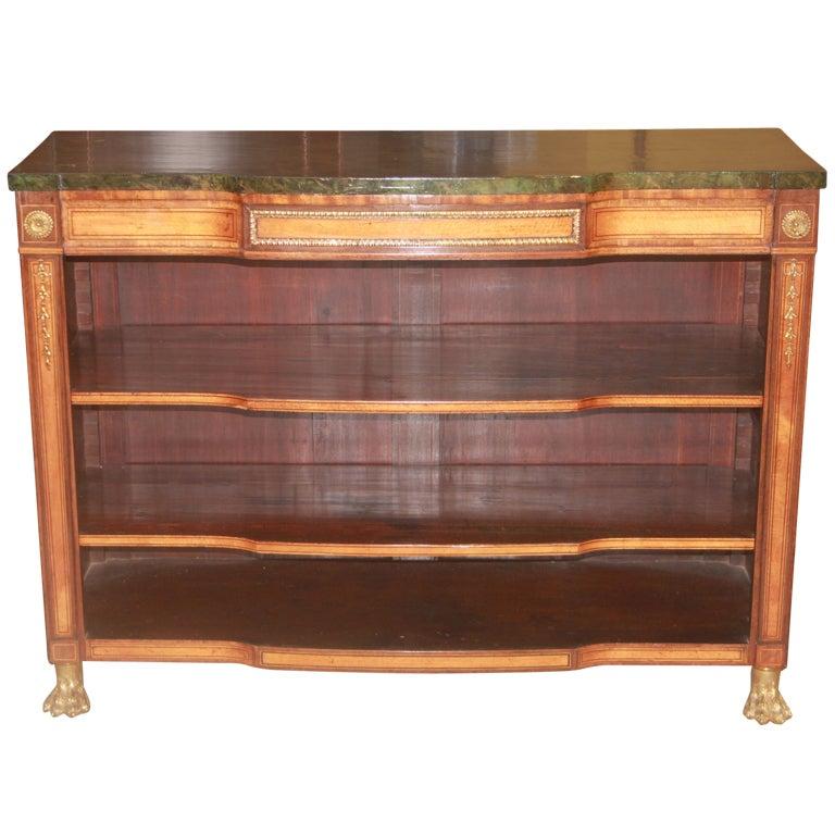 Regency Bookshelves At 1stdibs