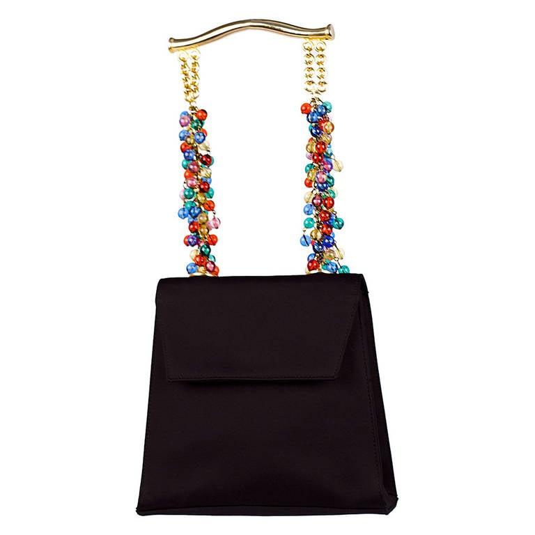 Gianni Versace Couture Embellished Handbag, 1991