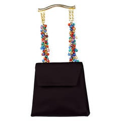 1991 Gianni Versace Couture Embellished Handbag