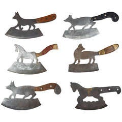 19th Century Folk Art Cleavers