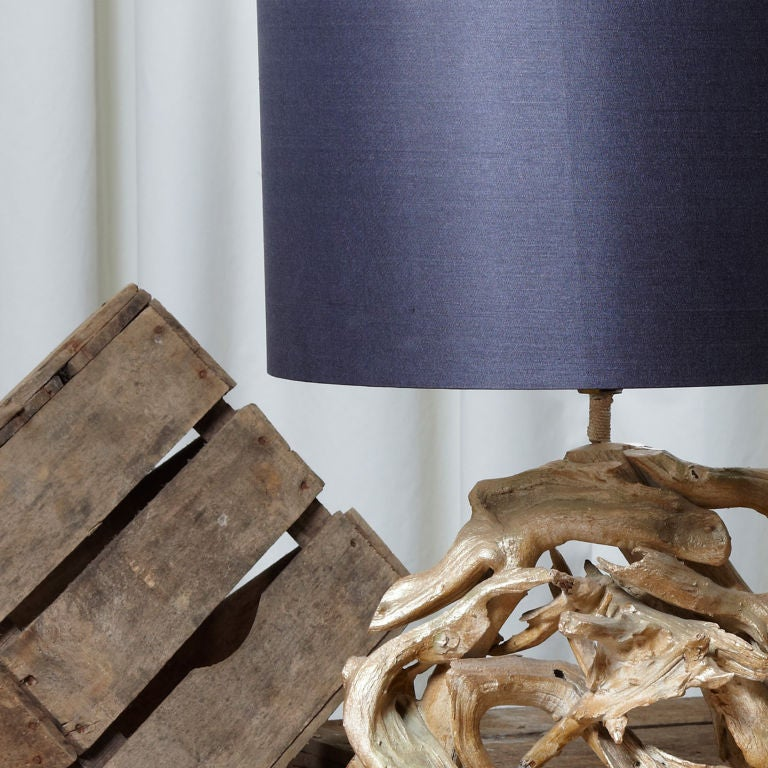 large driftwood lamp for sale at 1stdibs. Black Bedroom Furniture Sets. Home Design Ideas