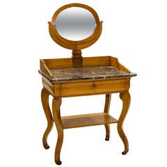 19th Century Louis Philippe Fruitwood Dressing Table