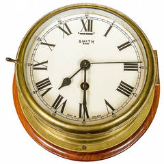 "1930s ""Smith"" Eight-Day Ships Clock"