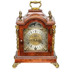 1920s Small English Mantle Clock by John Smith of London