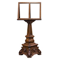 French Renaissance Pulpit Revolving Bookstand