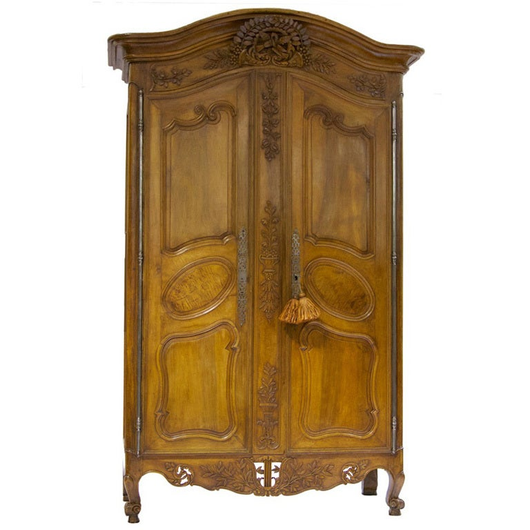 Period armoire from provence in cherry wood at stdibs